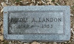 Birdie A. Landon