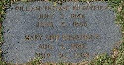 Mary Ann <i>Spurlock</i> Kilpatrick