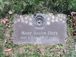 Mary Dixie <i>Dixon</i> Balon-Fritz