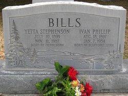 Ivan Phillip Bills