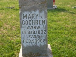 Mary Jane <i>Paige</i> Cochren