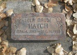 Lola Maude Hatch