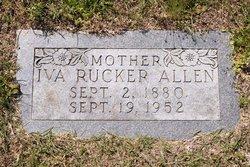 Iva <i>Rucker</i> Allen