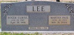 Martha <i>Pate</i> Lee