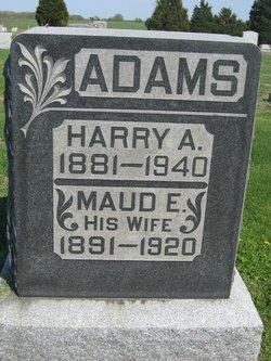 Maud E Adams