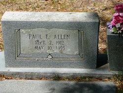 Paul E Allen