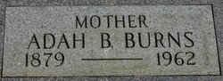 Adah Bell <i>Hall</i> Burns