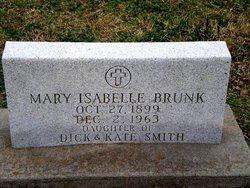 Mary Isabelle <i>Smith</i> Brunk