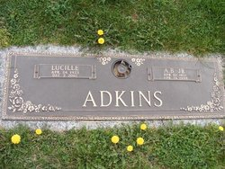 Edna Lucille <i>Wells</i> Adkins