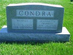 Jeannette <i>Morris</i> Condra