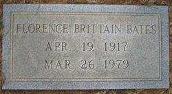 Florence <i>Brittain</i> Bates