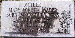 Mary Lovinia <i>Tillman</i> Mader