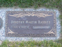 Dorothy Martin Rabbitt