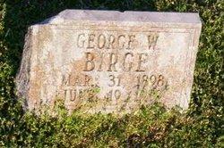 George W Birge