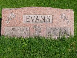 Florence Leverne <i>Alford</i> Evans