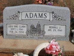 Judy Rae <i>Clark</i> Adams