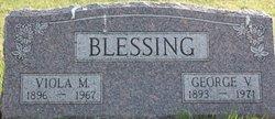George Vandruff Blessing