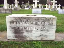 Sr Rose Patricia Allen