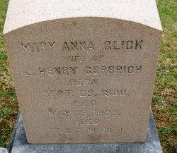 Mary Anna <i>Glick</i> Gerberich