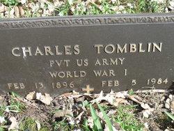 Pvt Charlie Tomblin
