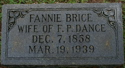 Francis Fannie <i>Brice</i> Dance