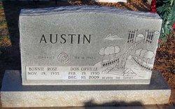 Rev Don Orville Austin