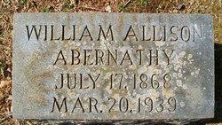 William Allison Abernathy
