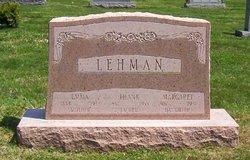 Emma <i>Von Allmen</i> Lehman