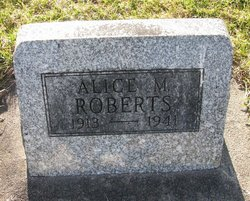 Alice M Roberts