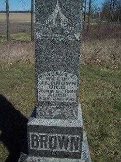 Barbara E. <i>Clark</i> Brown