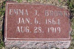 Emma J. Brown