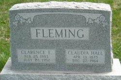 Claudia <i>Hall</i> Fleming