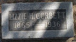Lizzie <i>Hughes</i> Corbett