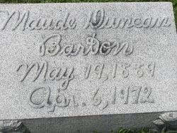 Maude <i>Duncan</i> Barton