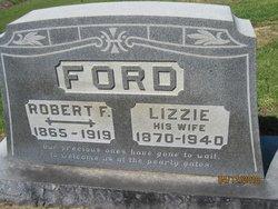 Martha Elizabeth Lizzie <i>Smith</i> Ford