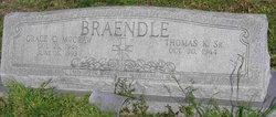 Grace C <i>McCraw</i> Braendle