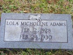 Lola Micholene Adams