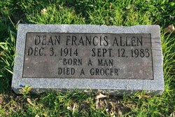 Dean Francis Allen