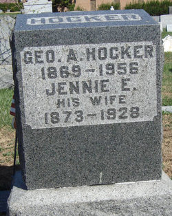 Jennie Elizabeth <i>Miller</i> Hocker