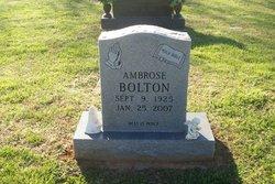 Ambrose Bolton