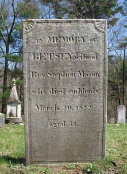 Elizabeth Betsey <i>Burr</i> Mason