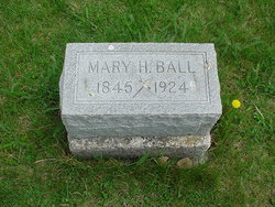 Mary Henrietta <i>Waters</i> Ball