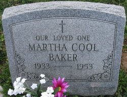 Martha Teresa <i>Cool</i> Baker