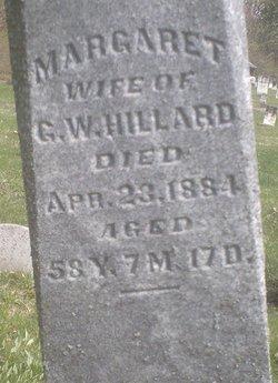 Margaret Ann <i>Bordner</i> Hillard