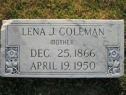Lena J. <i>Waller</i> Coleman