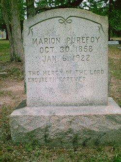 Marion Purefoy