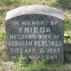 Frieda <i>Blum</i> Berliner