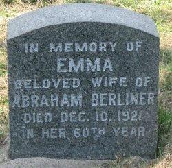 Emma <i>Blum</i> Berliner