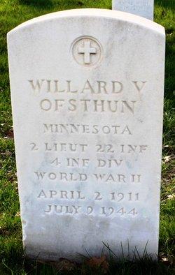 Willard V Ofsthun