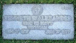 Kenneth William Alexander